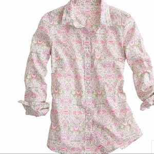 J Crew Liberty Perfect Shirt in Lodden Paisley